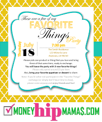 girls night invitation rhymes money hip mamas how to host a my favorite things party