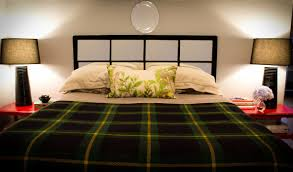 Green Master Bedroom by Bedroom Master Bedroom Decorating Idea With Tufted Headboard