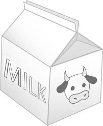 milk carton picture coloring netart