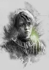 arya stark sansa stark wallpapers arya stark game of thrones by etienne ripzaad on deviantart