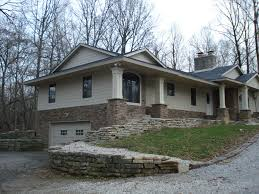 Bi Level Home Exterior Makeover by House Exterior Makeover Great Remodel House Exterior Split Level