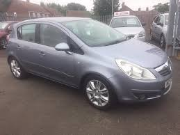 opel corsa 2007 used vauxhall corsa design 2007 cars for sale motors co uk