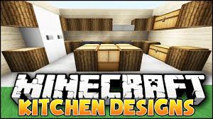 minecraft kitchen furniture minecraft kitchen designs ideas