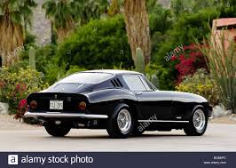 ferrari coupe rear 1967 ferrari 275 gtb 4 rear 3 4 view in black stock photo royalty