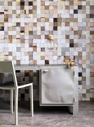 cool shabby chic wallpaper in wood look interior design ideas