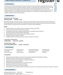 Experienced Nursing Resume Examples 100 Nursing Resume Experience Mla Works Cited Unpublished
