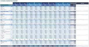 Rental Income Expenses Spreadsheet 12 Free Marketing Budget Templates