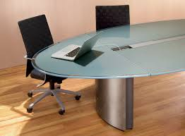Contemporary Conference Table Oval Glass Conference Table Stoneline Designs