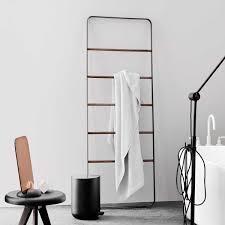 Ladder Shelf For Bathroom Modern Towel Ladder Stands For Bathroom Floor Towel Rack Free
