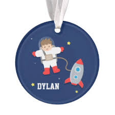 rocket ship ornaments keepsake ornaments zazzle