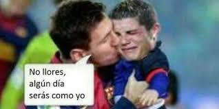 Memes Sobre Messi - memes del cl磧sico espa祓ol 眇messi es pap磧 de cristiano ronaldo