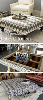 How To Make An Ottoman Out Of A Coffee Table 15 Easy Diy Ottoman Ideas You Can Make On A Budget Pallet