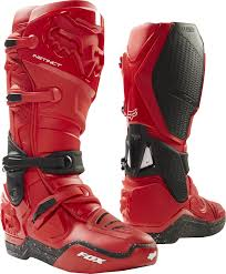 fox boots motocross fox racing flexair red moth limited edition motocross mx racewear