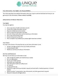patient forms visionfirst eyecare hipaa form texas 0 vawebs
