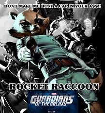 Guardians Of The Galaxy Memes - what meme would you create to popularize rocket raccoon from