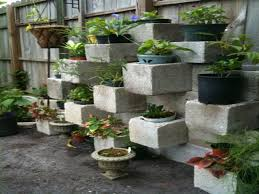 Block Wall Ideas by Home Decor Boxes Cinder Block Garden Wall Ideas Cinder Block Wall
