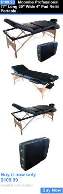 used portable massage table for sale massagers mcombo professional 77 long 30 wide 4 pad reiki portable