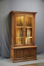 Fishing Rod Storage Cabinet Woodloft Amish Custom Made Cherry Gun Cabinet With Fly Rod Storage
