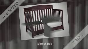 delta convertible crib toddler rail delta children emery 4 in 1 convertible crib review youtube
