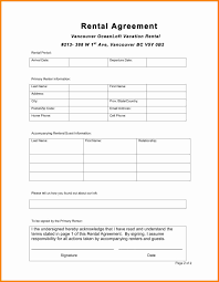 8 simple one page lease agreement template ledger paper