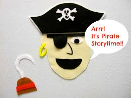 pirate storytime sturdy for common things