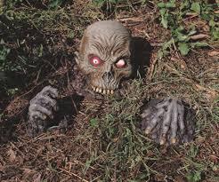 animated crawling zombie diy zombie window halloween decoration