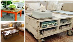 Diy Wood Coffee Table by 5 Diy Wooden Pallet Coffee Tables Diy Thought