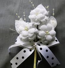 italian favors rachetta flower favor from blue handmade italian favors