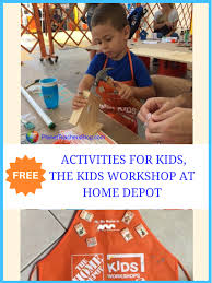 free activities for kids the kids workshop at home depot