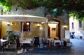 romantic restaurants in rome