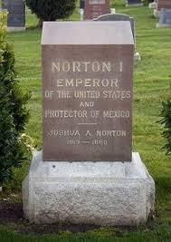 grave tombstone emperor norton s grave colma california atlas obscura