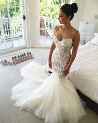 sweetheart wedding dresses gorgeous mermaid style lace appliques tulle wedding dress