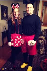 Halloween Costume Minnie Mouse Mickey Minnie Mouse Couple U0027s Costume Minnie Mouse Halloween