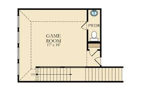 Game Room Floor Plans Chaffee New Home Plan In Cinco Ranch Northwest Classic And
