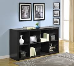 room dividers bookshelves with modern black 8 box design for room
