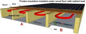 how to insulate a wood wood floor with radiant heat