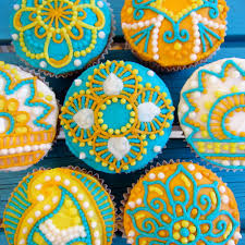 easy henna cupcakes 10 steps with pictures