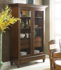 Wood Furniture Door Storage Cabinet With Glass Doors Homesfeed