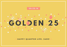 festive confetti golden birthday card templates by canva