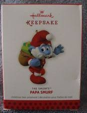 2013 hallmark keepsake ornament papa smurf the smurfs ebay