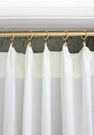 How To Fix A Shower Curtain Rod Replacing Bi Fold Closet Doors With Curtains Our Closet Makeover
