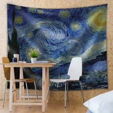 amazon com wall26 starry night by vincent van gogh fabric