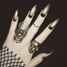 cool claws creepy cool nail inspiration source instagram nailart