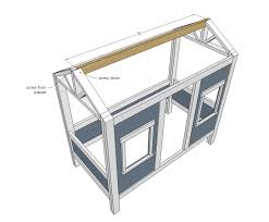 plans for building a cabin ana white cabin bed by jen woodhouse diy projects