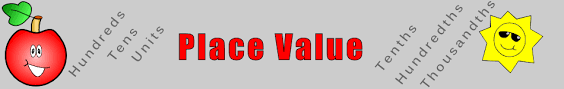 place value lesson starters and online activities