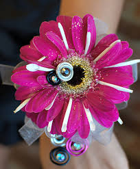 Prom Corsage Pink Daisy Prom Corsage Prom Flowers In Richland Wa