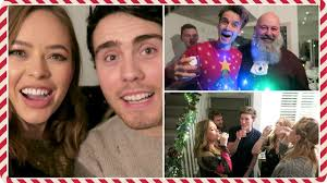inside our christmas party vlogmas day 16 youtube
