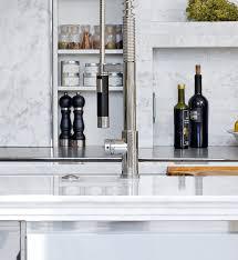 mick de giulio u0027s stainless steel kitchen design carrara marble