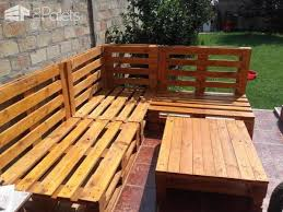 angular euro pallet patio lounge set u2022 1001 pallets