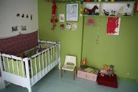 chambre fille vert idée chambre enfant vert